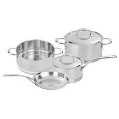Demeyere Atlantis 6-pc Stainless Steel Cookware Set
