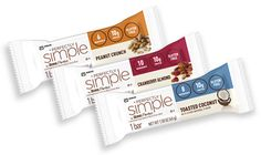great packaging design: perfectly simple bars