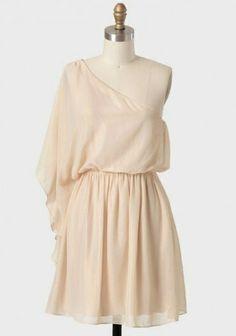 Boda Civil vestido Asimetrico