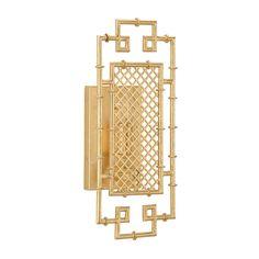 Chelsea House BENTON SCONCE - GOLD