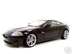 2006 Jaguar XK Coupe Black 1/18 Diecast Model Car by Autoart