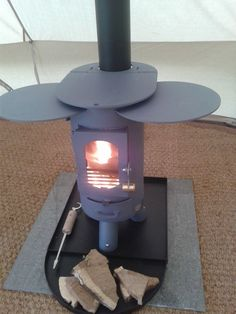 Our bell tent stove & Hot Vent Tent Heater | Camp | Pinterest | Tents Camping tools and ...