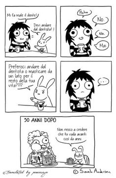 Sarah's Scribbles in Italian