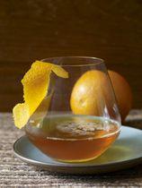 chipolte orange syrup...hmmm--premium bourbon
