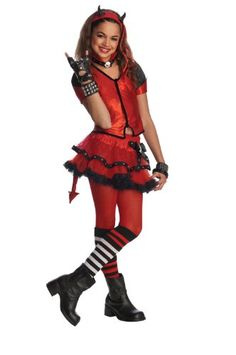 Rubie's Drama Queens Child Devilish Costume - Medium (Size 8-10) >>> To view further for this item, visit the image link.