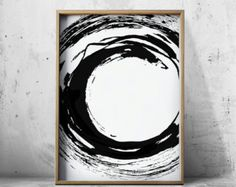 Minimalist abstract print geometric art print scandinavian for Minimal art resumen