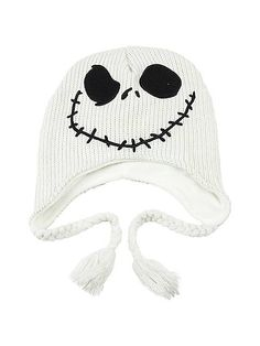 Jack Skellington has been mixing up Christmas and Halloween for years and now you can do the same by using this character hat for the winter season. Nightmare Before Christmas Costume, Christmas Costumes, Halloween Costumes, Birthday Box, Jack Skellington, Knitted Hats, Sewing Crafts, Beanie, Teen