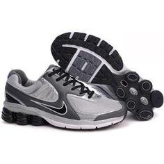 outlet store 5a763 00bb1 Hommes Nike Shox Qualify BigKids Blanc Gris Noir Argent Black Nike Shox,  Cute Nikes,