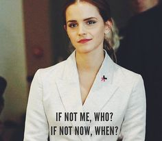 Woman in modern society being Transcendentalist would be like Emma Watson. They would embrace women's rights, or be in some type of political stand defending what they believe is right.