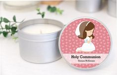 Personalised First Communion favours / by MahinaCreations on Etsy