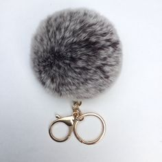 15 OFF ALL ITEMS New Brown Frosted Fur pom pom by YogaStudio55