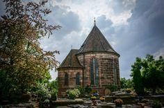 Johannesfriedhof Cemetery where Albrecht Dürer is buried - Nuremberg Germany