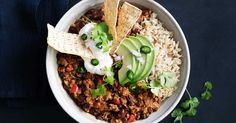 Made with turkey mince, this better-for-you chilli con carne will be a firm family favourite.