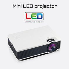 78.99$  Buy now - http://ali5iv.worldwells.pw/go.php?t=32761213774 - 1000lumens 1080P HD Home Theater LCD PC The HDMI USB pICO Video Game LED Mini Projector Projector HD Proyector Beamer