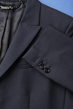 Jacket Sport Coat BURBERRY   Blue Midnight Peak Lapel