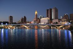 2) Columbus City Skyline: We know it's not New York, but we do know our state's capital is a city to cherish.