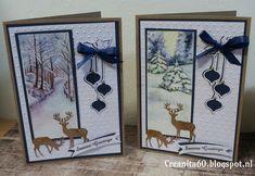 CreAnita: februari 2017 Christmas Cards 2017, Create Christmas Cards, Beautiful Christmas Cards, 3d Christmas, Homemade Christmas Cards, Christmas Scrapbook, Christmas Scenes, Christmas Animals, Acetate Cards
