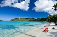 Maho Beach, St. John.Virgin Islands National Park.