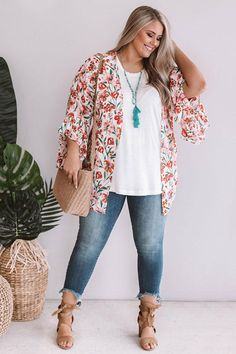 Floral Crush Overlay In Pink - plus size fashion for women - Style Grunge, Hipster Grunge, Soft Grunge, Grunge Outfits, Casual Outfits, Cute Outfits, Fashion Outfits, Fashion Clothes, Plus Size Summer Fashion