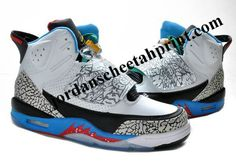 innovative design bcfed 9f403 Air Jordan Son Of Mars Bordeaux Black White Treasture Blue Red 512245 161