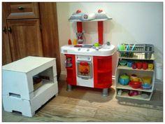 kuchnia dla dzieci zabawki meble recykling radosna WYtwórczość DIY