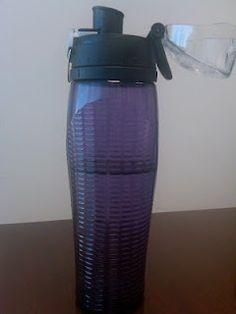 Thermos Intak- This is the best water bottle EVER. You can guzzle and track