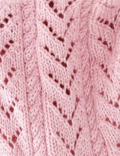 Caron International | Free Project | Little Girl Pink Baby Blanket