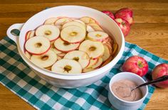 Baked cinnamon apples are a fall and winter favorite, but you can enjoy them all year! To cut down on calories, this recipe offers the alternative of using artificial sweeteners.