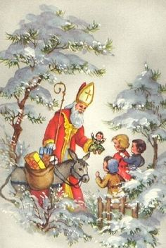 I believe in St Nicolas!  His spirit comes every year during the Christmas season!      Aline. ♥