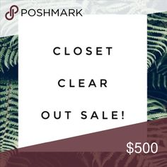 Trying to clean out my posh closet! Please feel free to submit offers to me, I will not accept extreme lowballs please remember how much posh takes when submitting offers 💕 Tops Crop Tops