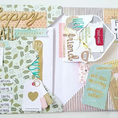 Watched @lauravorlicek snail mail YouTube video (and all the rest of them.. ) and fell in love with this idea! So much room for all the things as well! #outgoing #sendmoremail #snailmail #penpals