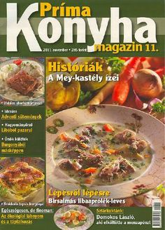 prima konyha magazin 2011 11 by boldogpeace Food And Drink, Beef, Chicken, Meat, Steak, Cubs