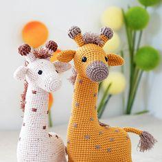 Sunny Giraffe pattern by Chuchkalova Marina