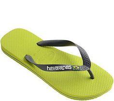 Havaianas Flip Flop Sandals - Brazil Logo
