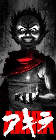 AKIRA Terrific Illustrations by Fabian 'Monk' Schlaga Manga Anime, Fanarts Anime, All Anime, Anime Characters, Akira Tetsuo, Tetsuo Shima, Science Fiction, Cyberpunk Art, Cultura Pop