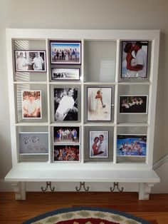 Picture Frame Window Bench. I am sooo in love with this!!