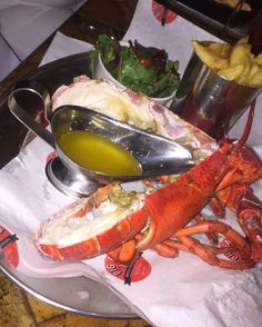 LOBSTER & CHIPS - @bigeasylondon CANARY WHARF by where2eatlondon