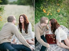 Playing board games in the photos! cute idea!