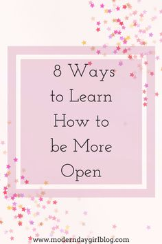 How do we become more open? Those with anxiety struggle with this (me included!) Do read this now to see how I can guide you!