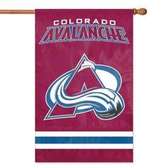 NHL Colorado Avalanche Applique Banner Flag