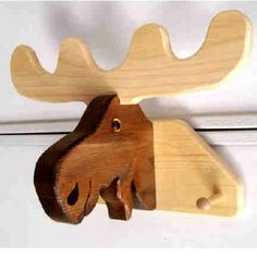 Coat Rack Moose