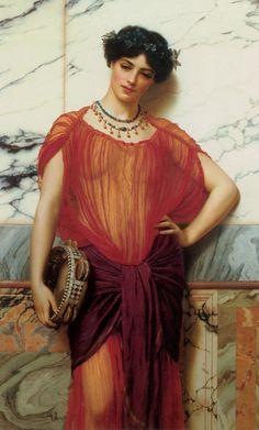 John William Godward-Drusilla-1906