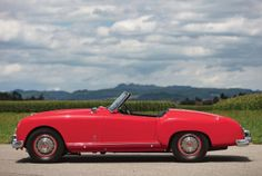 1953–54 Nash-Healey Le Mans Sport Convertible