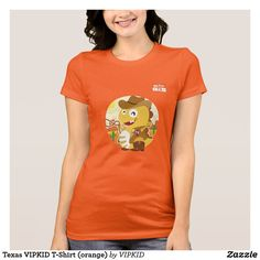 Texas VIPKID T-Shirt (orange)