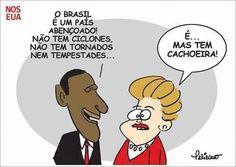 Obama, Dilma e Cachoeira...
