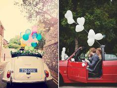 Decorazioni per l'auto degli sposi – parte seconda