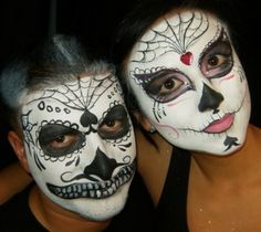 Day of the Dead Sugar skull photo shoot - Page 2