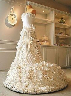 cake design torta abito da sposa - Cerca con Google