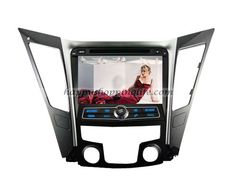 Hyundai i50 Autoradio multimedia, pure Android car DVD player with 8 inch screen, GPS navigation with dual zone function, built in Wifi, support USB 3G Internet access, support virtual disc, digital TV tuner (DVB-T MPEG-2 or MPEG-4, ATSC M/H or ISDB-T for optional to suit for customers from different areas), Radio with RDS, Bluetooth, iPod, AUX, USB, SD, iPod, Support 1080 HD video, support live wallpapers and personalized wallpaper, CAN Bus to support factory amplifier