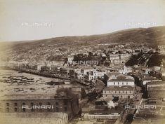 Panorama di Valparaiso in Cile, 1900 ca., Raccolte Museali Fratelli Alinari (RMFA), Firenze